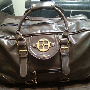 Iman Jet Travel Luggage Bag Roller dufflel
